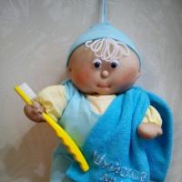 Мастер-класс «Кукла-подвеска «Умывайкин»