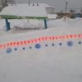 Фотоотчет «Зимнее оформление участка»