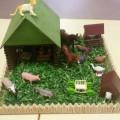 Наглядное пособие-макет «Ферма»