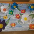 Коллективная работа «Цветочное поле»