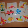 Дидактическая игра «Геометрическая мозаика»