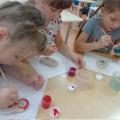 «Матрешка»— неофициальный символ России (работы детей подготовительной группы)