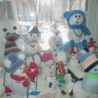 Фотоотчёт «Парад снеговиков в детском саду»