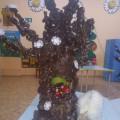 Мастер-класс по изготовлению дерева из пластиковой бутылки