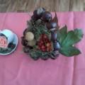 Выставка поделок из природного материала «Подарки хозяюшки Осени» в старшей логопедической группе