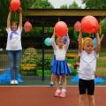 Открытие спортивной многофункциональной площадки