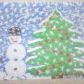 Конкурс детского рисунка «Зима пришла»