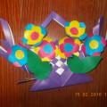 «Корзиночка с цветами». Мастер-класс