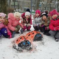 Фотоотчёт «Зимние игры и забавы» в старшей группе