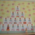 Рисование дымковской игрушки «Барыня» (средняя группа)