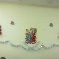 Новогоднее украшение группы «Зимняя сказка»