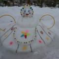 Создание условий для развития детей на участке зимой