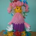Мастер-класс кукол в уголок природы «Веснянка и Зимушка».