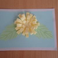 Мастер-класс «Простая открытка на День матери»