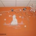 «Времена года. Зима». Фойе и коридоры детского сада