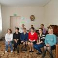 Фотоотчет о мастер-классе с родителями по нетрадиционному рисованию