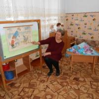 Фотоотчет об итоговом занятии за первый квартал «Курочка-Рябушечка» в первой младшей группе