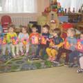 Мастер-класс. Поздравительная открытка своими руками с детьми младшей группы к празднику 8 Марта