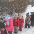 Интегрированный конспект занятие в младшей группе «Зимняя прогулка»