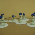 Конспект занятия по лепке в младшей группе «Забавный снеговик»