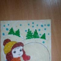 Мастер-класс коллективной работы с использованием пластилинографии «Зимние забавы»