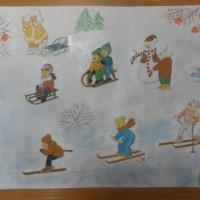 Фотоотчет о районном конкурсе «Зимние забавы»