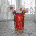 Мастер-класс «Ваза для цветов»