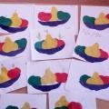 Мастер-класс «Тарелочка с фруктами». Аппликация с элементами рисования