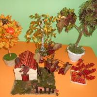 Художественно-творческая выставка «Осеннее дерево» (фотоотчет)