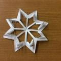 Мастер-класс «Объёмная снежинка, или Снежинка-колючка»
