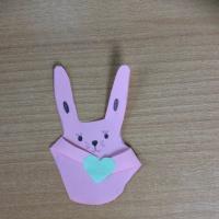 Мастер-класс «Зайка-обнимашка» из бумаги. Подарок к Дню Матери
