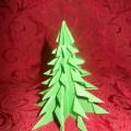 Мастер-класс «Елочка в технике оригами»
