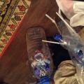 Персонажи сказки «Колобок» из пластиковых бутылок
