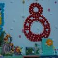 Выставка семейных поделок к 8 Марта