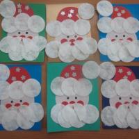 Мастер-класс. Новогодняя поздравительная открытка «Дед Мороз»