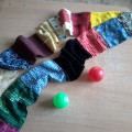 Развивающее пособие «Тактильный шарфик»