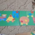 Дидактическая игра «Веселый паровозик» для детей раннего возраста