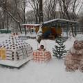 «Снежная сказка» (снежные скульптуры по произведениям русских народных и авторских сказок). Фотоотчёт