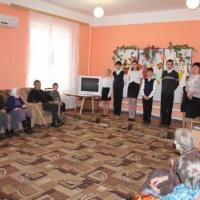 Фотоотчет о мероприятии, посвящённом Дню пожилого человека