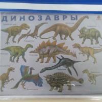 Занятие для детей старшего дошкольного возраста «Мир динозавров»