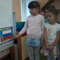 НОД по аппликации в подготовительной группе «Российский флаг»