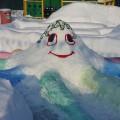 Фотоотчет. Снежные постройки для любимых воспитанников.