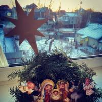 Праздничное познавательное занятие в средней группе «Рождество Христово»