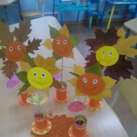 Фотоотчет о выставке детских поделок из природных материалов «Осенние фантазии»