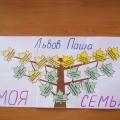 Генеалогическое древо семьи (совместная работа детей и родителей)