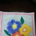 Конспект НОД в подготовительной группе «Цветы небывалой красоты» с использованием нетрадиционной техники рисования