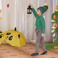 Фотоотчёт об осеннем празднике в подготовительной группе «В садово-овощном королевстве»