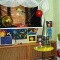 Оформление помещения-раздевалки в старшей группе «Из Самары в Космос!»