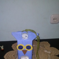 Мастер-класс «Кормушка для птиц «Мудрая сова»