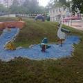 Оформление территории детского сада в летний период